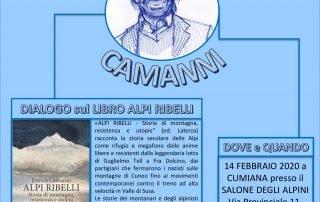 Arriva a Cumiana Enrico Camanni